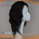 Indian Remy Natural Wavy Human Hair Full Lace Hand Tied Wig