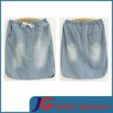 Factory Straight Women Denim Skirt (JC2049)