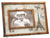 Distressing Frame Photo with Silk-Screen