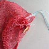 PP L-Sewing Drawstring Packing Garlic Mesh Bag