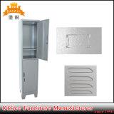 Vertical Steel 2 Two Door Metal Gym Storage Cabinet Locker