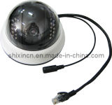 720p 1.0MP Mini IR IP Dome Camera (Infrared: 15m) (IP-02H)