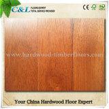 Smooth UV Coating Prefinished Merbau Wooden Flooring