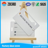 Double Cards Plastic Luggage Tag Card with Signature Panel