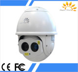 Multi Function Night Vision PTZ Dome Camera Flir Thermal