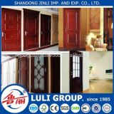 Wood Veneer/Melamine Paper Faced HDF Door Skin