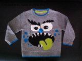 Boys Intarsia Acrylic Jumper - True Knitted Sweater