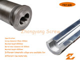 Bimetallic Screw Barrel Bimetal Twin Parallel Screw Cylinder