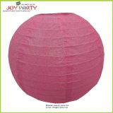Wedding Decorative Pink Glittering Paper Lantern