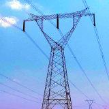 500 Kv Single Circuit Power Transmission Line Angle Steel Tower