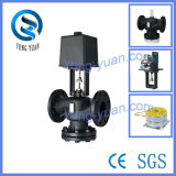 Electric Actuator Valve 2-Way Flange Motorized Valve for HVAC (VD-2615T-65)