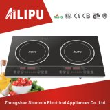Soft Touch Control 2000W+2000W Dual Induction Cooker Electrical Kitchen Appliances