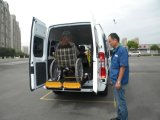 CE Fully Electric Wheelchair Lift for Van with Split Platform (WL-D-880S-1150)