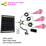 Newest Solar Home Lighting with 3PCS 3W Solar Lamp
