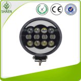 60W 9inch Round White Ring Angel Eyes LED Work Light