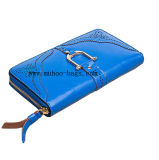 Fashion Leather Wallet for Lady (MH-2063 blue)