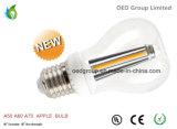A60 LED Apple Bulb E26 E27 300 Degree 6W 7W with 100lm/W UL and Ce RoHS