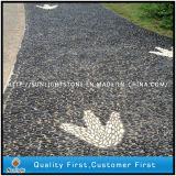Cheap Natural Black/Yellow/White Pebble Stone for Garden Mosaic