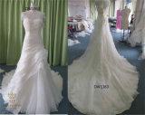 2016 New Strapless Organza Bridal Wedding Dresses