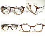 Wholesale Promotional Super Thin Round Frame Antique Eyewear Frame