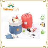 Round Shape Drawstring Cosmetic Bag for Sell
