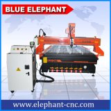 Ele-1530 Woodworking Cylinder CNC Router, Wood Door Engraving CNC Router, Hot Sale DSP Handle Control 3D Wood CNC Router