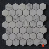 White Marble Mosaics for Indoor Wall and Floor Decoration