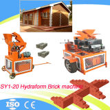 Hydraform Clay Interlocking Block Machine Sy1-20