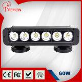 60W Single Row 12V LED Offroad Light Bar
