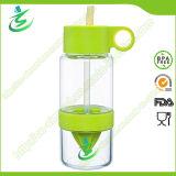 630ml Mini Infuser Lemon Water Bottle, BPA Free Plastic