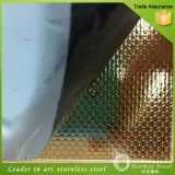 2016 Hot Selling Linen Embossed Stainless Steel Sheet for Kitchen appliance
