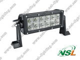 7.5inch CREE 36W LED Work Light Bar off 4WD 4X4 LED Light Bar