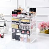 Custom 5 6 7 Drawer Acrylic Storage Box Makeup Organizer