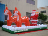 Inflatable Christmas Toy Santa Claus (AQ5722)