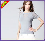 Fashion Sexy Cotton Printed T-Shirt for Women (W277)