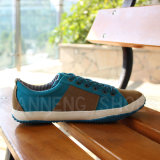 Canvas Shoes Double-Colors Rubber Outsole for Men (SNC-03033)