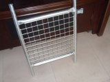 2100mm X2400mm Hot Dipped Galvanized to Be 42 Microns Temporar Security Fence Panels