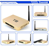 Zoomtak T8 Full Rooted Android TV Box with Amlogics802, Support Dual Band WiFi and Bluetooth4.0 TV Receiver