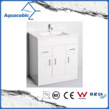 Classic Beautiful High Glossy Finish MDF Bathroom Cabinet Vanity (ACF9046)