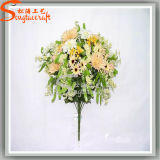 Classic Style Decoration Artificial Plant Rose Silk Flowers
