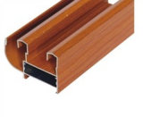 Wood Grain Aluminium Profile for Windows and Door Powder Coating, Thermal Break, Anodizing, Silver Polishing, Golden Polishing
