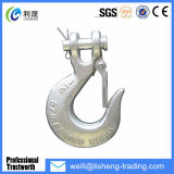 Super Alloy Steel Clevis Slip Hook with Latch