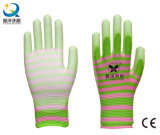 13 Gauge Polyester Liner with PU Coated Safety Gloves