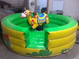 Hot Selling Inflatable Ride Bull Game Rodeo Bull Ride Game