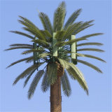 Customized Camouflaged Telecommunication Cell Phone Artificial Outdoor Palm Trees Tower