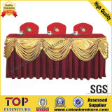 Chinese Style Wedding Banquet Table Skirt