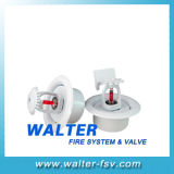 White Color Recessed Pendent Sprinklers