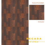 400X400 Rustic Ceramic Wood Tile (4A014)