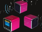 Music Angel MD08 Mini Speaker with TF Card Playing+FM Radio+Digital Screen+Clock (ZS-013)
