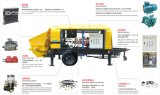 Hbt, Dhbt-Series Large Aggregate Concrete Pump